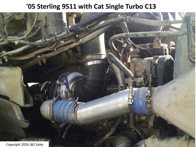 Cat C11c13 Acert Single Turbo Conversion Kit