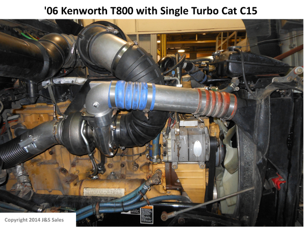 06 T800 Kenworth Single Turbo Cat C15 web cat c 15 acert single turbo conversion kit  at nearapp.co